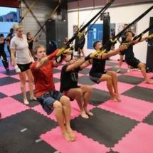 Kickboksen Leeuwarden KYOKU Gym trx 2